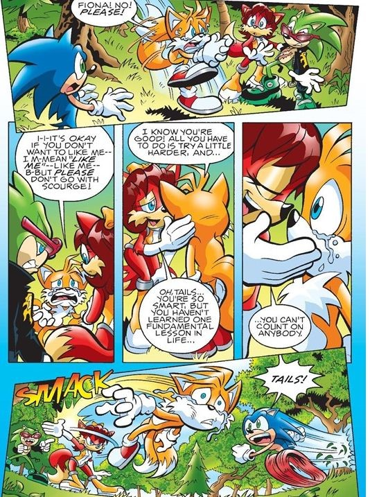Tails-Fiona panel 5 by FoxAffliction