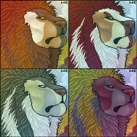 Noble Lion Port by CreatureCreatingBabe