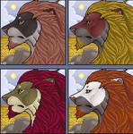 Another Premade Lion
