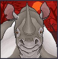 Rhino Port by CreatureCreatingBabe