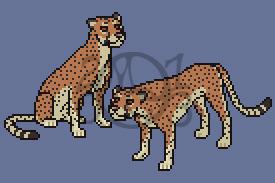 SOLD!!  Cheetah Avatar by CreatureCreatingBabe