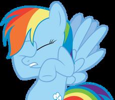 Rainbow Dash - Facehoof by abydos91