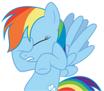 Rainbow Dash - Facehoof