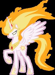 Princess Celestia's Fury by abydos91