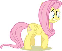 Fluttershy - Worried and Scared by abydos91
