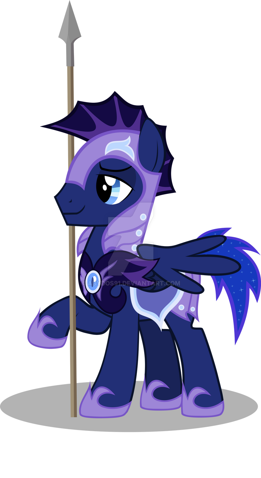 Night Thunder - Faithful soldier by abydos91