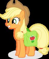 Applejack - Apple Family Portrait by abydos91