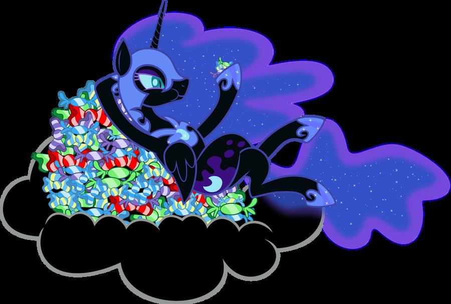 Nightmare Moon - Night dessert by abydos91