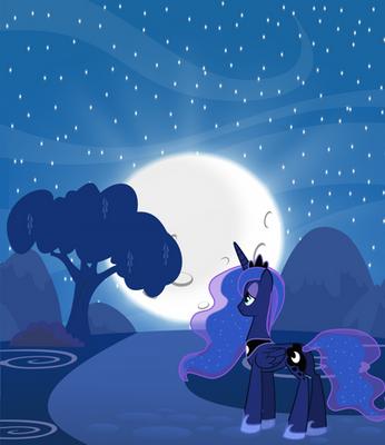 Princess Luna - Night ride