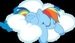 Rainbow Dash - Asleep