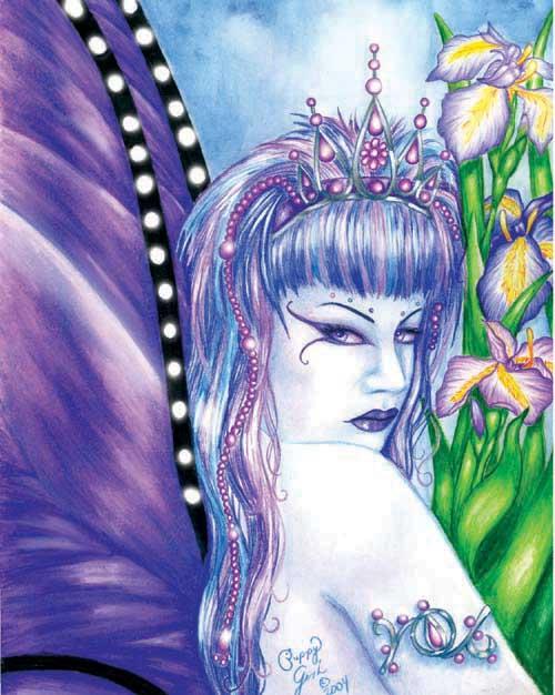 Iris Faerie by PuppyGirl