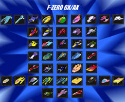 F-ZERO Tribute GX/AX Variant (Version 2) by Revivedracer209