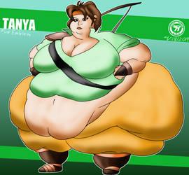 Fat Emblem: Tanya by Revivedracer209