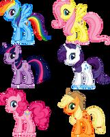 Pixel: My Little Pony FIM by Anie