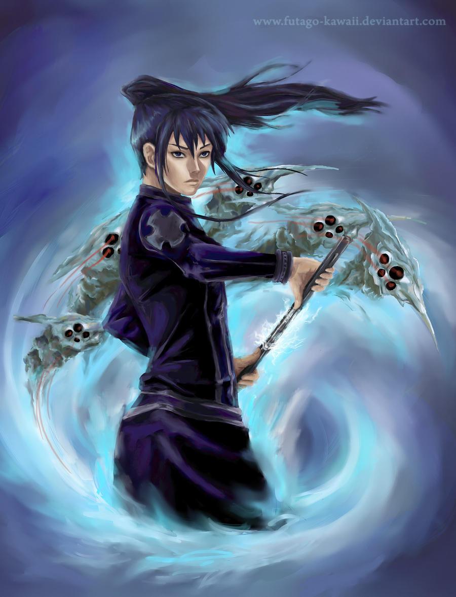 D.Gray-man: Kanda Yuu by Futago-KawaiI