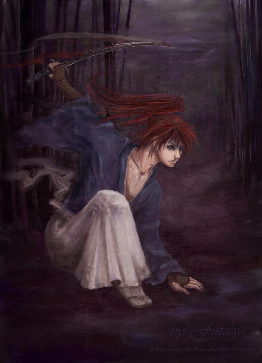 Kenshin - Hitokiri Battousai by Futago-KawaiI