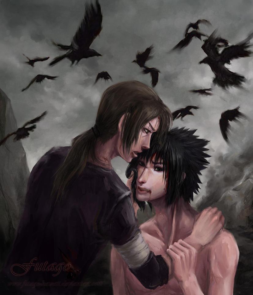 Itachi and Sasuke: Last touch by Futago-KawaiI