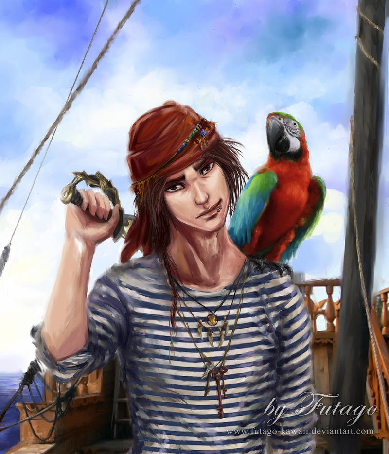 Pirate - Sovereign of the Seas by Futago-KawaiI