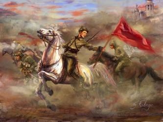 Russian Red Freedom by Futago-KawaiI