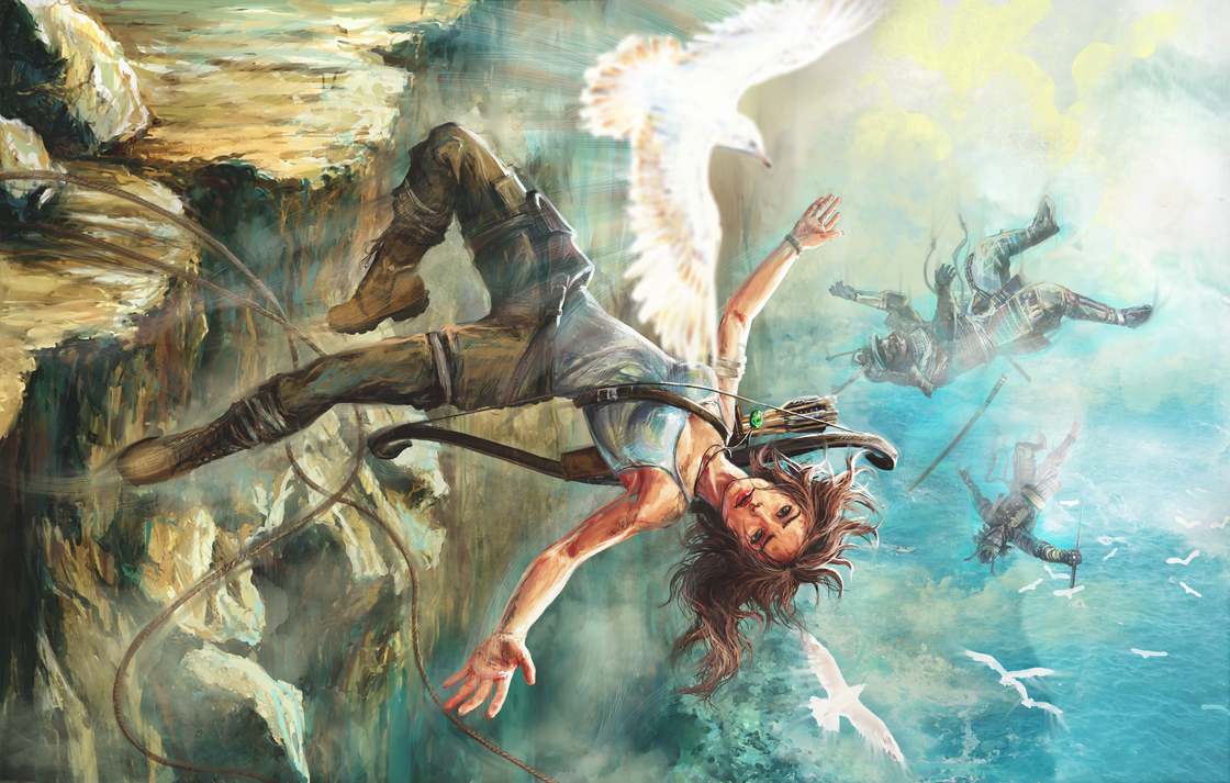TOMB RAIDER: Reborn as a bird by Futago-KawaiI