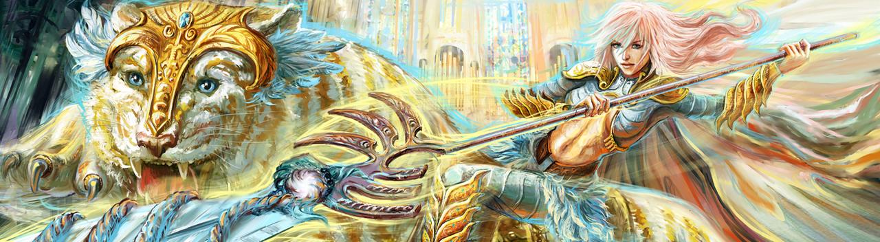 FFXIII Lightning Returns: Legendary Rider by Futago-KawaiI