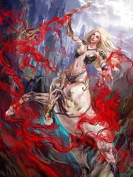Mistery Centaur Girl by Futago-KawaiI