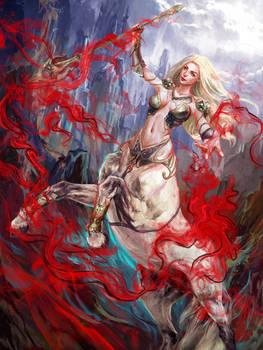 Mistery Centaur Girl