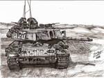 Israeli Magach 7 Tank