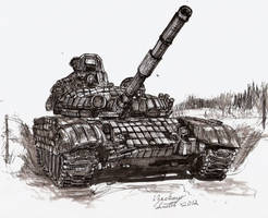 T-72 With ERA by shank117
