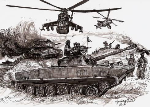 Red Dawn PT-76 Light Tank