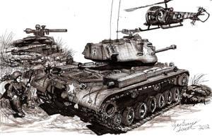 The Forgotten War M47 Patton