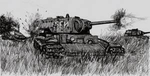 KV-1 in the Field