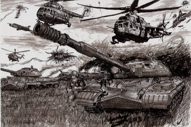 T10 (IS-8) Spearhead Into World War 3 by shank117