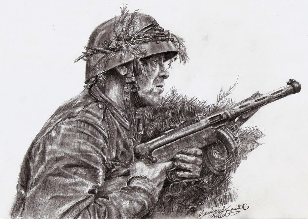 Finnish Soldier Illustration by shank117
