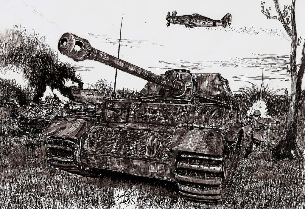 Elefant Zossen 1945 by shank117