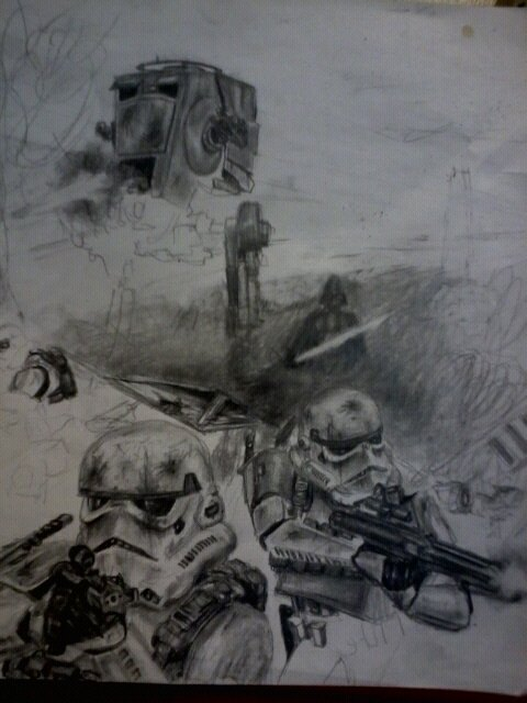 Star Wars Picture Progress by shank117