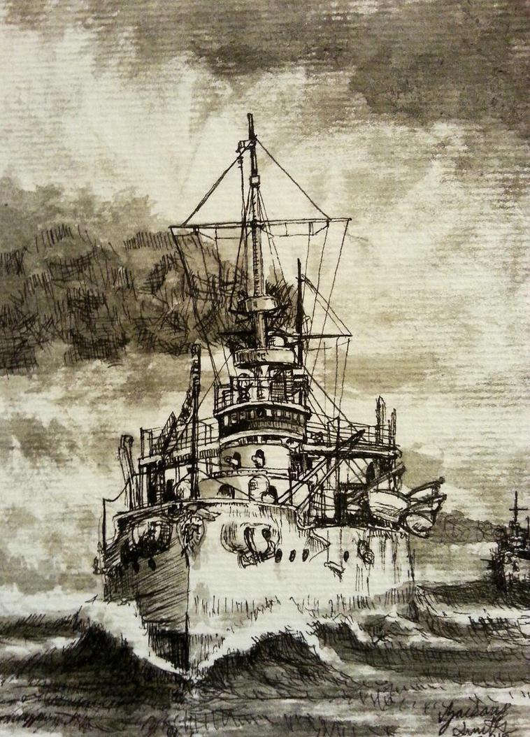 USS Kearsarge by shank117