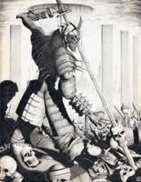 Undead Berserker by Xobius