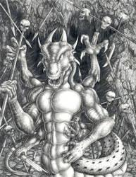 Lair of the Crimson Drake by Xobius