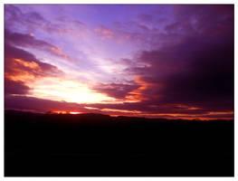 November Sunset 4 by Aamarka