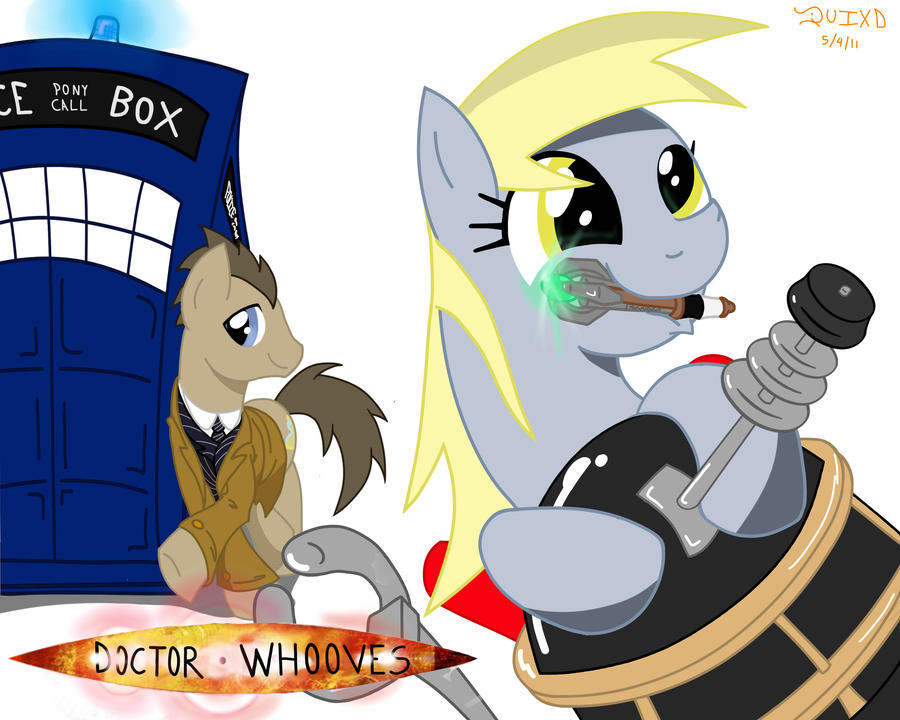 Doctor Whooves by RockingQuix