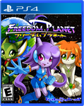 Freedom Planet PS4 cover