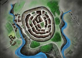 Old Village by gfgraFix