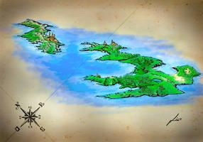 Islands fantasy 1 by gfgraFix