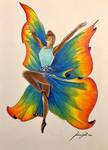 Ballerina farfalla - Dancer butterfly