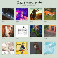 2012 Summary of Art by enonea