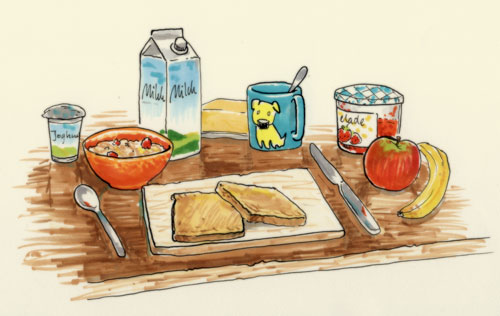 Breakfast by enonea