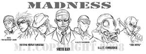 MADNESS contest by m-t-copyright