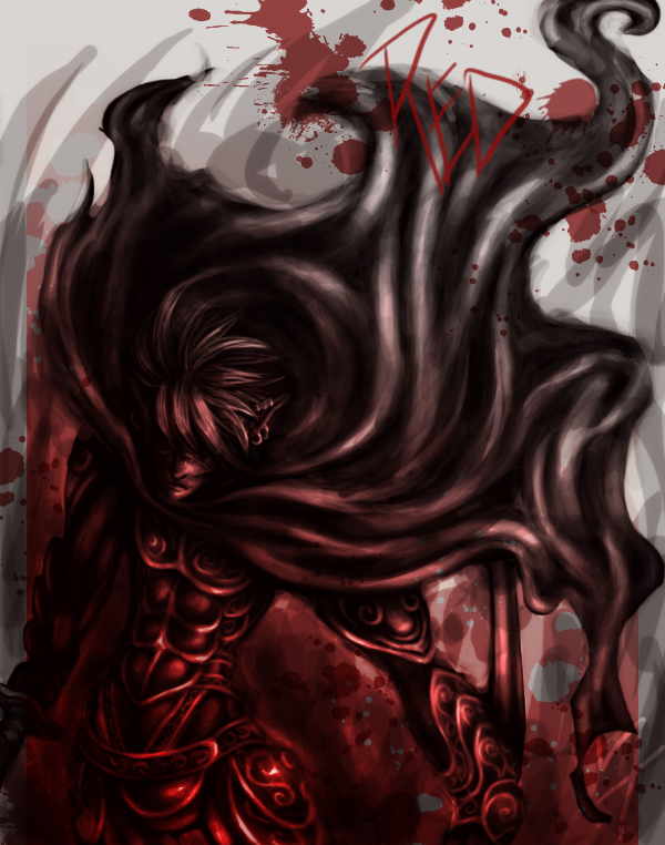 Red Is Death In color by m-t-copyright