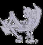 Megamind-BRAINSTORM-line art